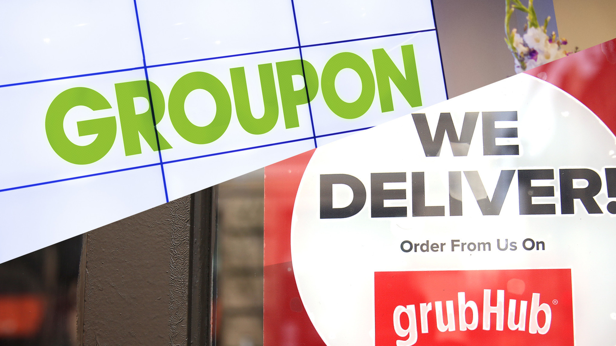 Grubhub Groupon Join Forces On Food Delivery Chicago Tribune