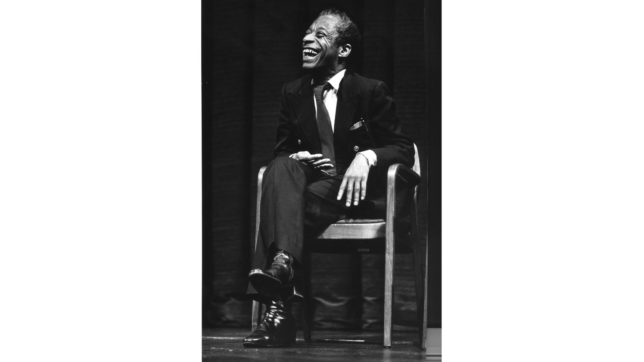 James Baldwin speaking at UC Berkeley, April 1979