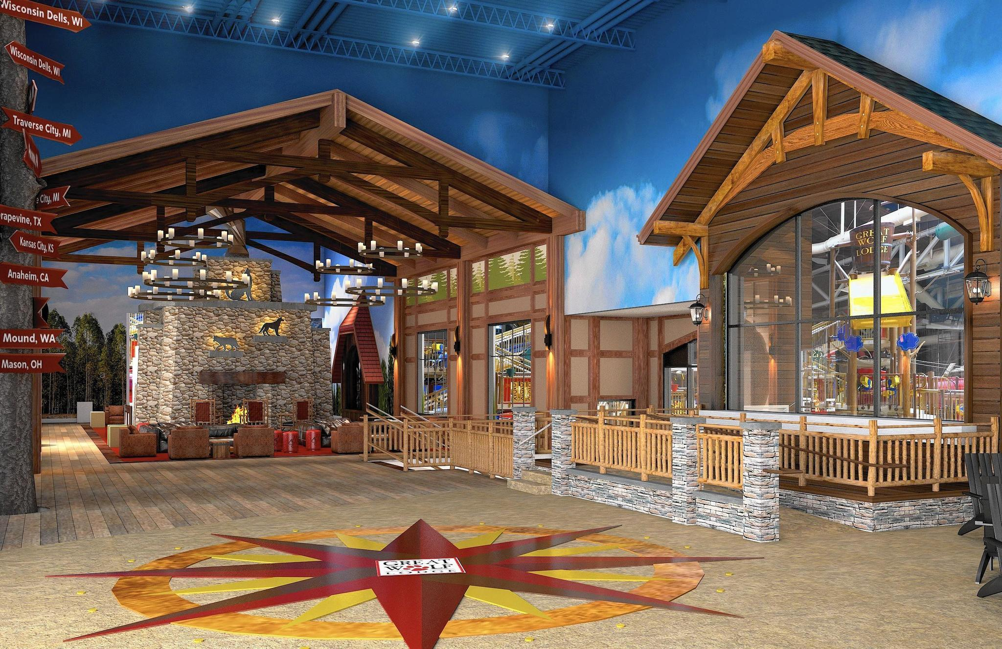 Great Wolf Offers Sneak K Of Its First Water Park Resort In Illinois Chicago Tribune