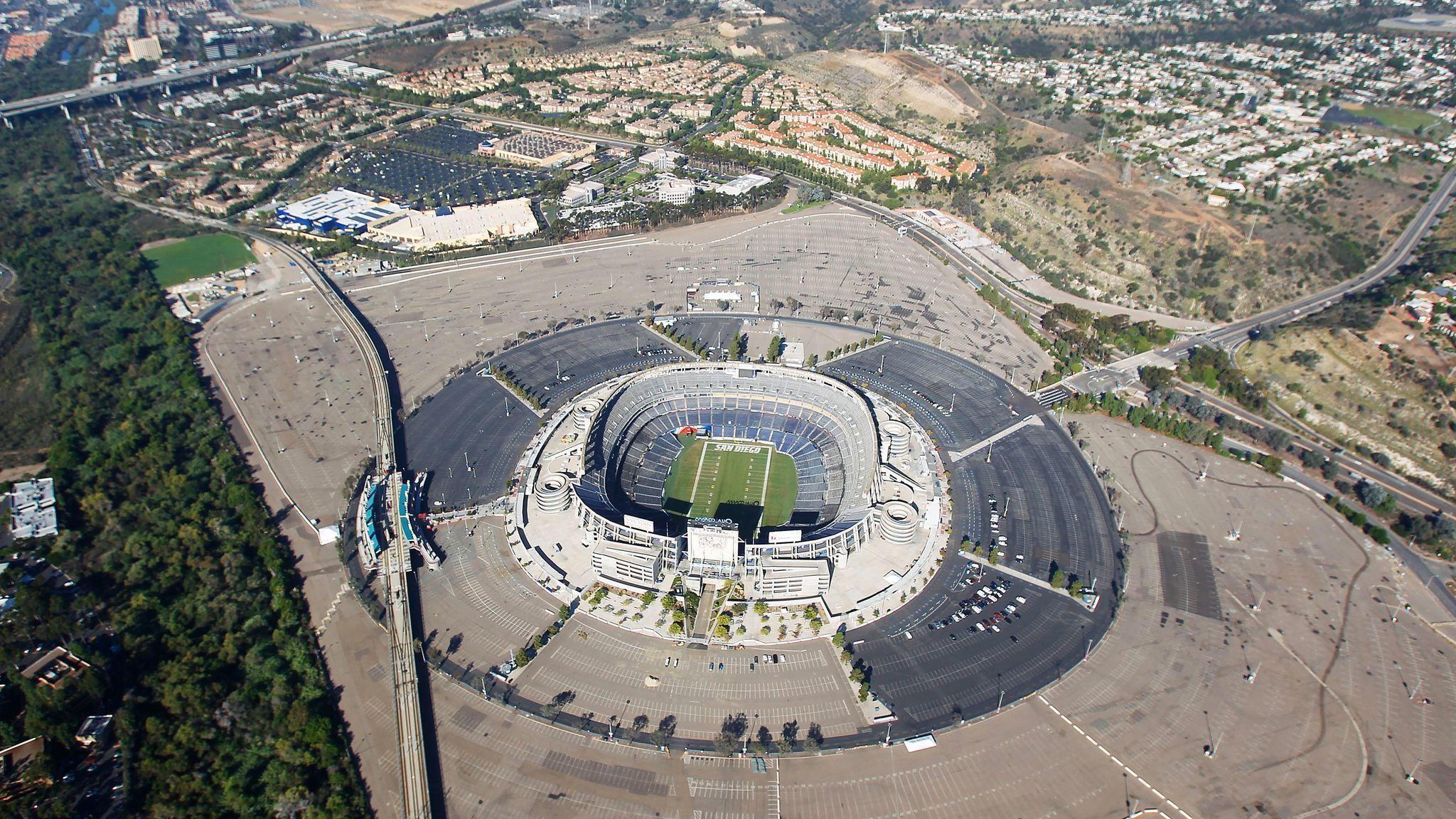 Qual m Stadium name up for grabs The San Diego Union Tribune