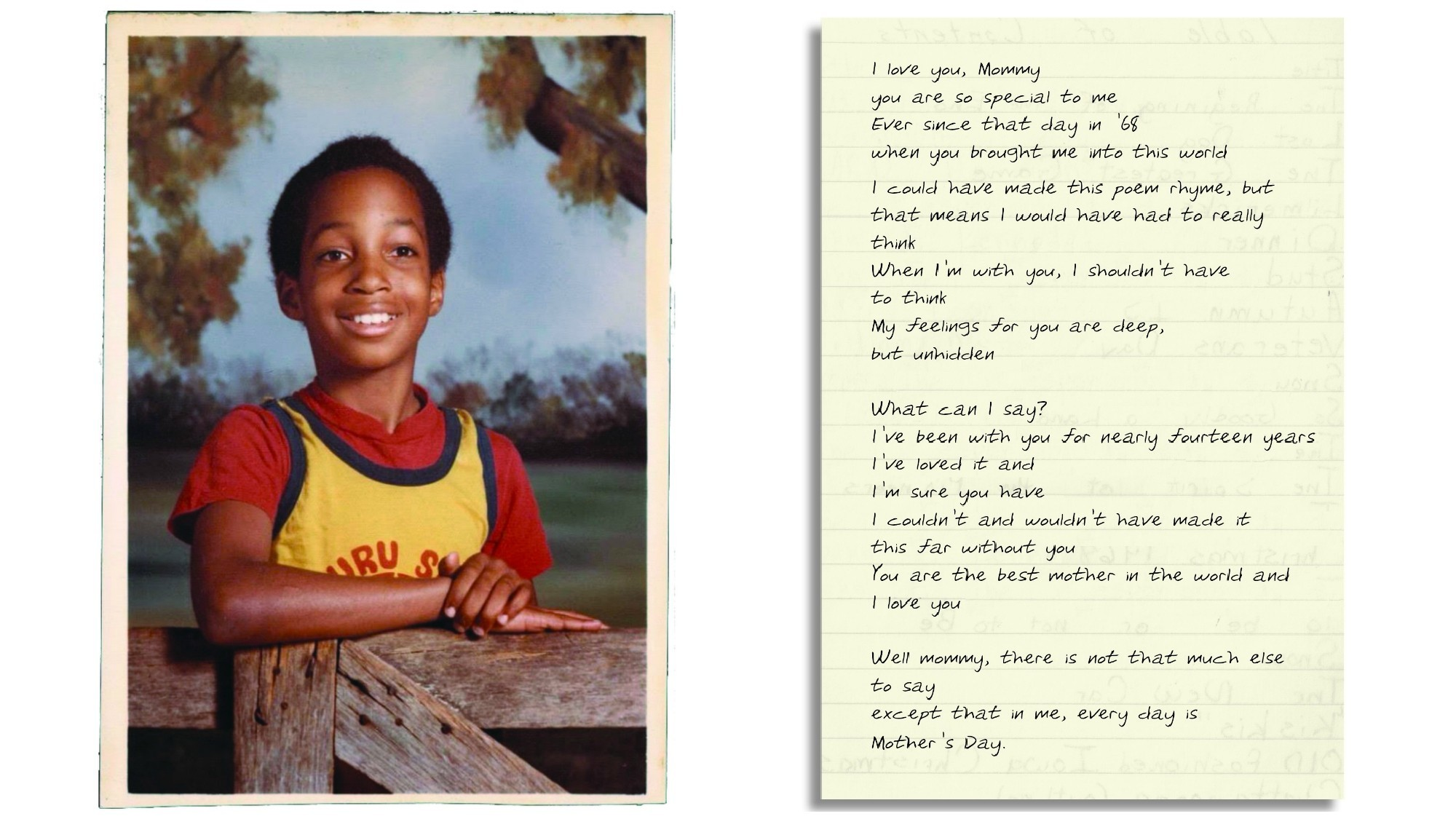 Kwame Alexander and an untitled poem