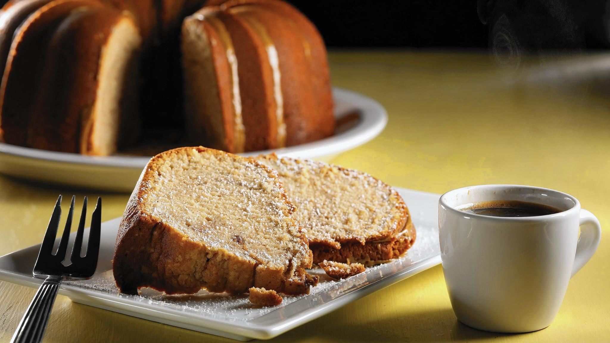 Pound cake to help you cope