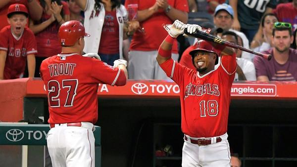 Angels hit 3 home runs in third in 7-0 rout over Phillies