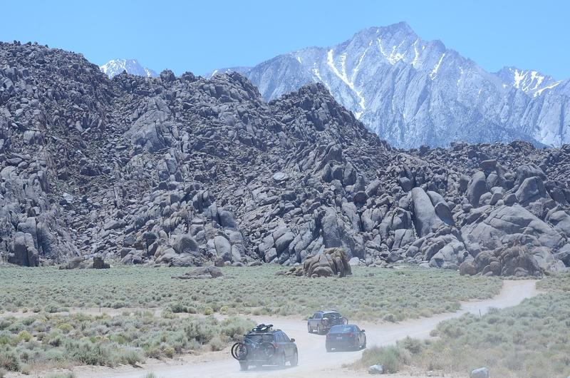 The Alabama Hills. (Christopher Reynolds / Los Angeles Times)