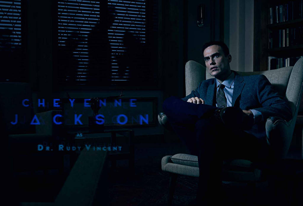 Cheyenne Jackson as Dr. Rudy Vincent. (FX)