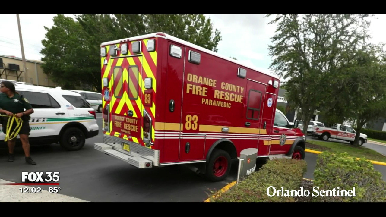 Orange County Fire Rescue Uses Gps To Reduce Response Time Orlando News Now Orlando Sentinel