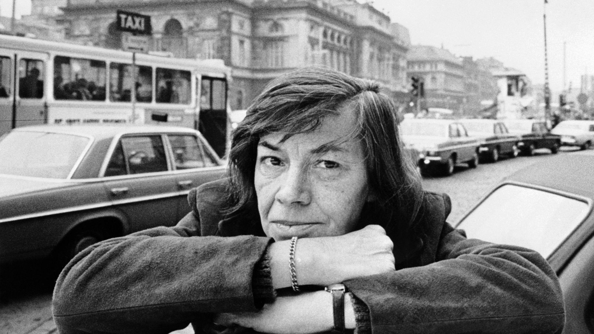 Patricia Highsmith, author of the Ripley novels.