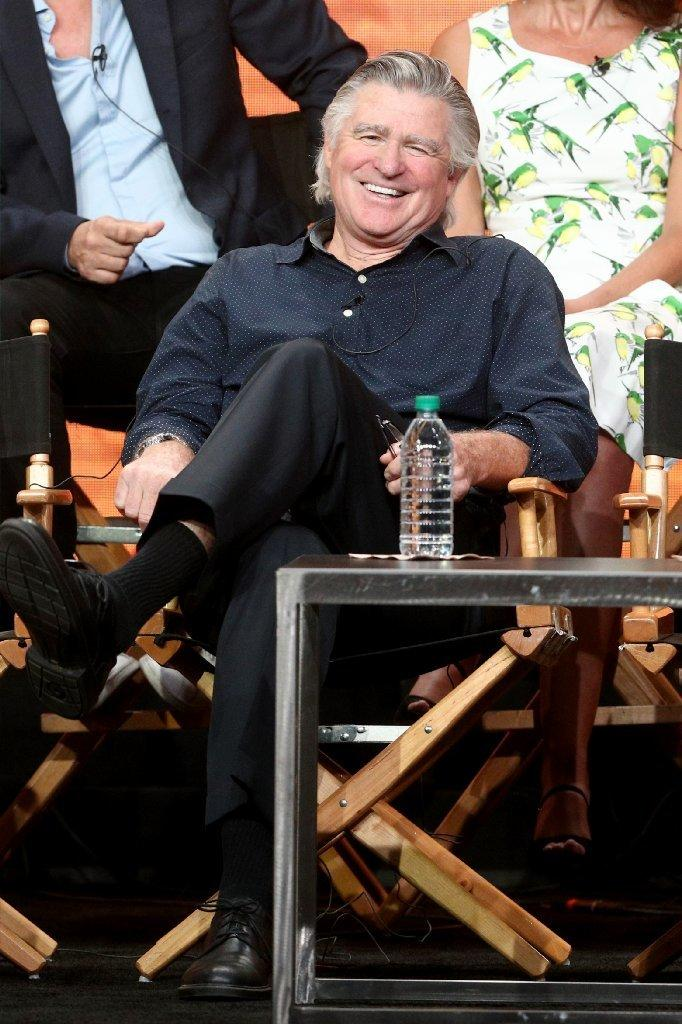 "Treat Williams on the ""Everwood"" panel at TCA on Aug. 2. (Frederick M. Brown / Getty Images)"