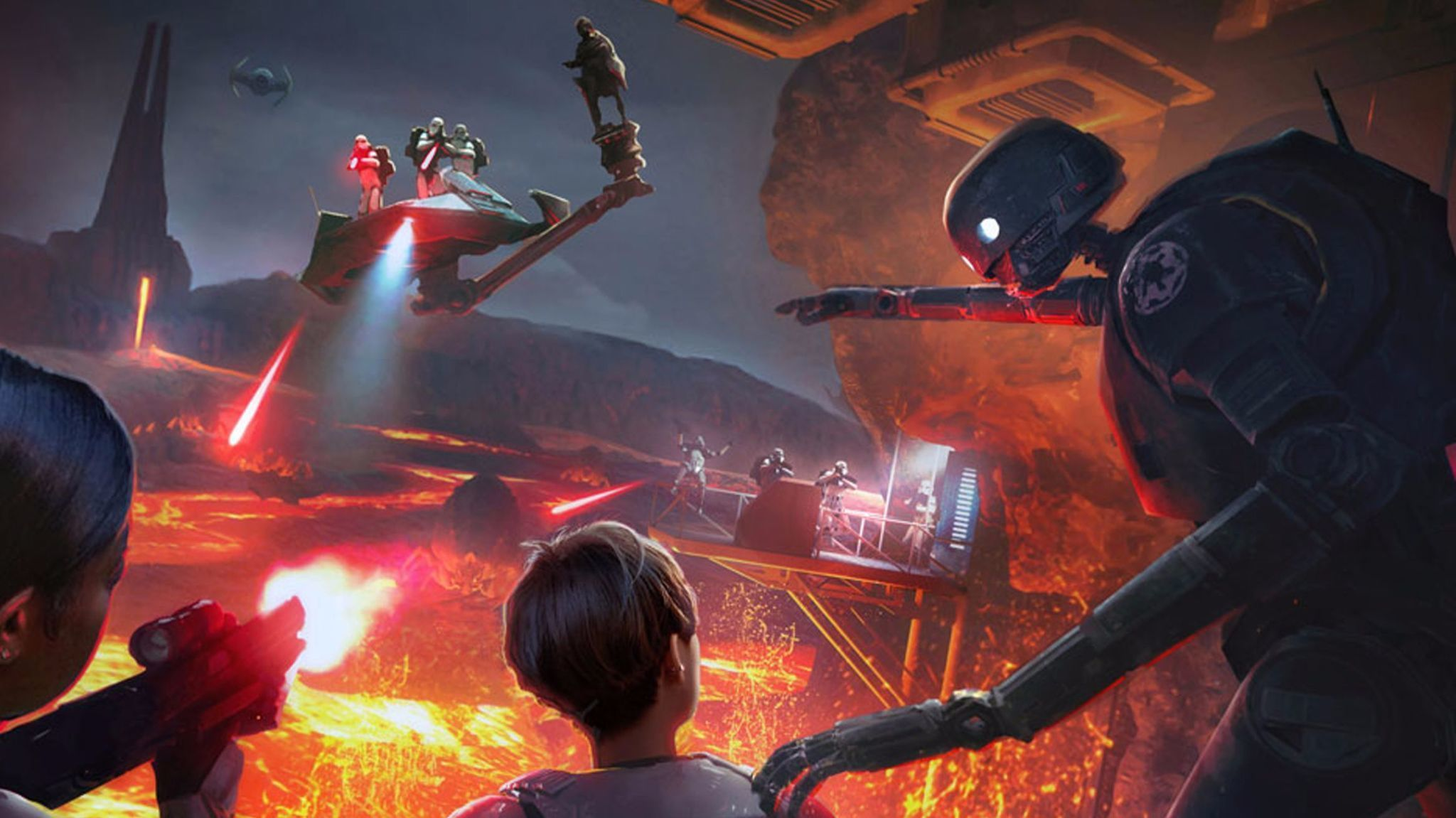 star wars virtual reality attraction to open at downtown disney this year la times - Free Disney Games For 4 Year Olds