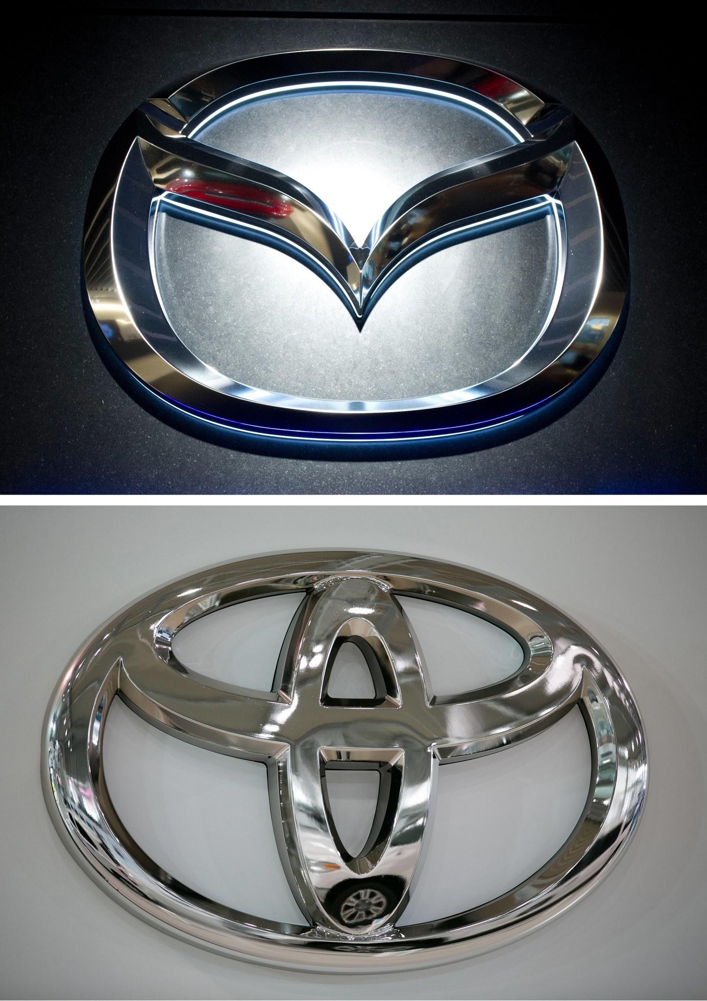 Toyota mazda plan 16 billion us plant to partner in electric toyota mazda plan 16 billion us plant to partner in electric vehicles chicago tribune biocorpaavc Choice Image