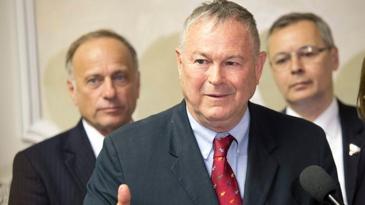 Rep. Dana Rohrabacher (Misha Japaridze / Associated Press)