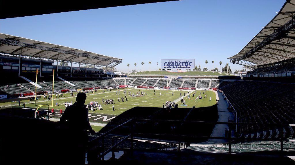 Chargers Set For First Workout At New Home Field The San