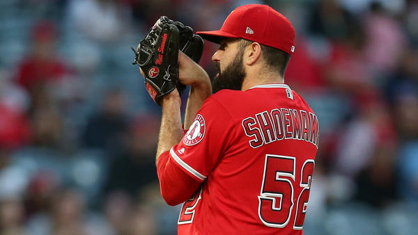 Angels starter Matt Shoemaker potentially to have surgery for nerve pain in forearm