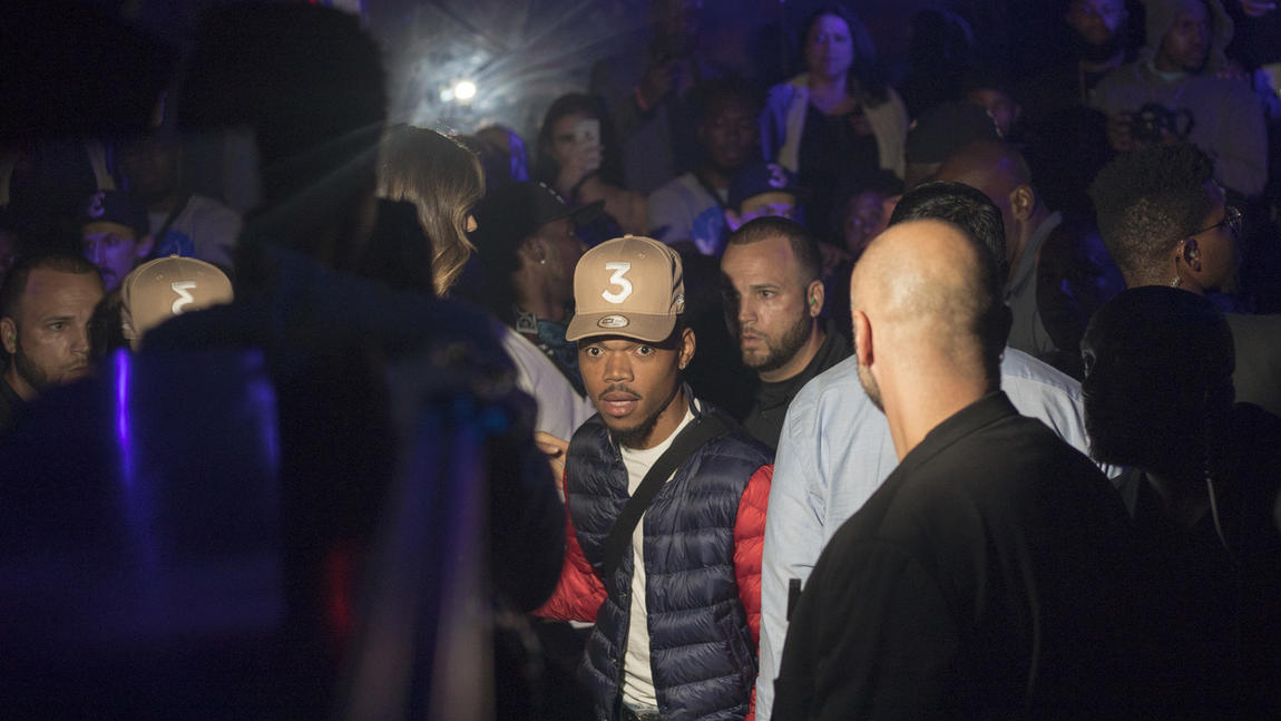 Chance the Rapper's afterparty at Studio Paris