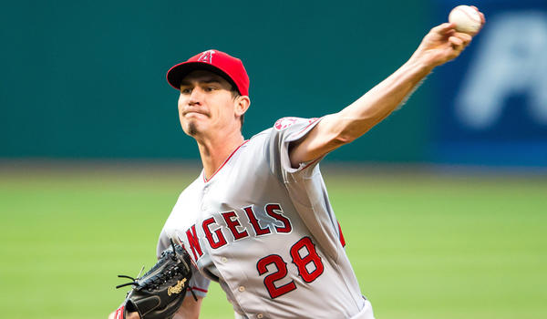 Angels pitcher Andrew Heaney is bent on beating the odds