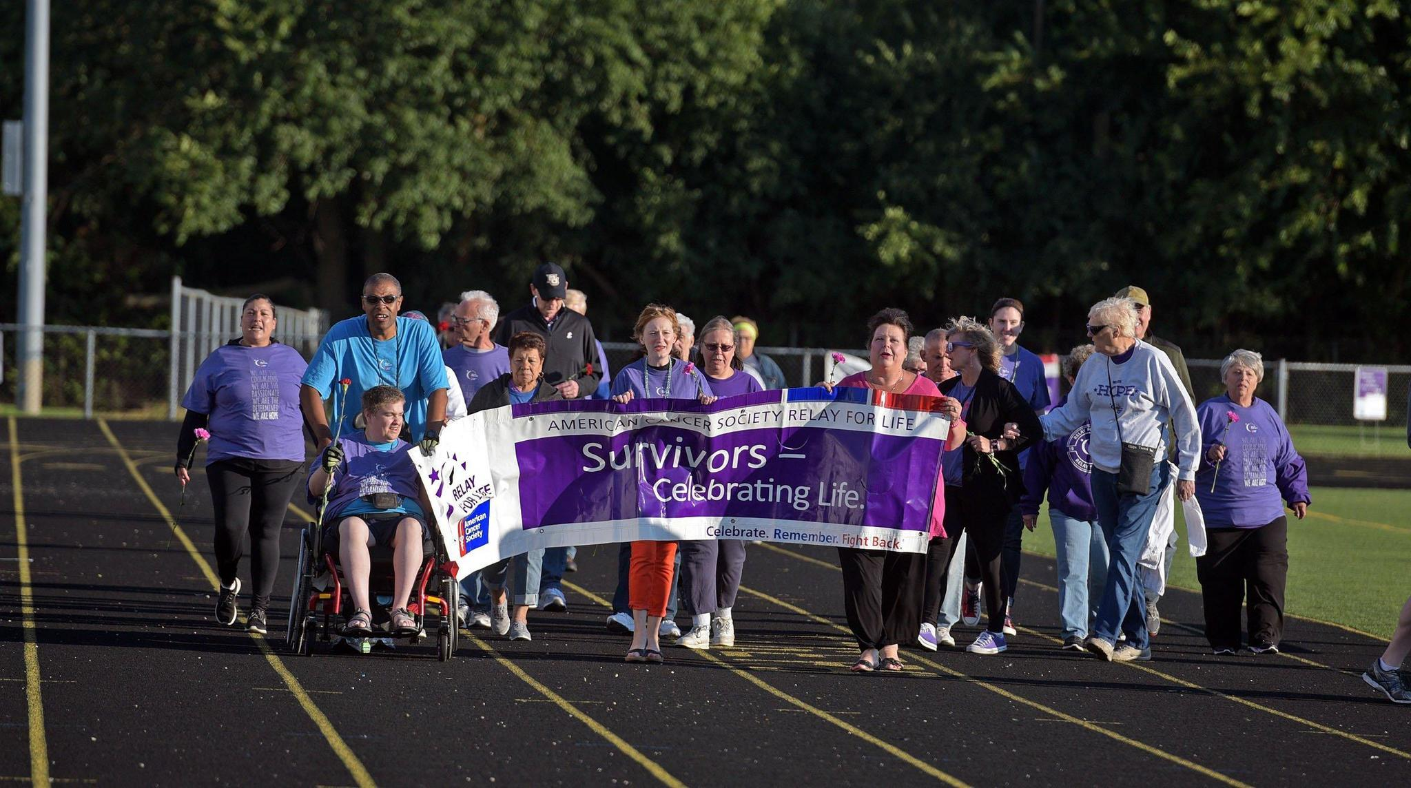 For Life Relay For Life More Than 100 Participate In Elmwood Park Event