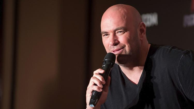 UFC President Dana White in 2014. (Anthony Kwan / Getty Images)