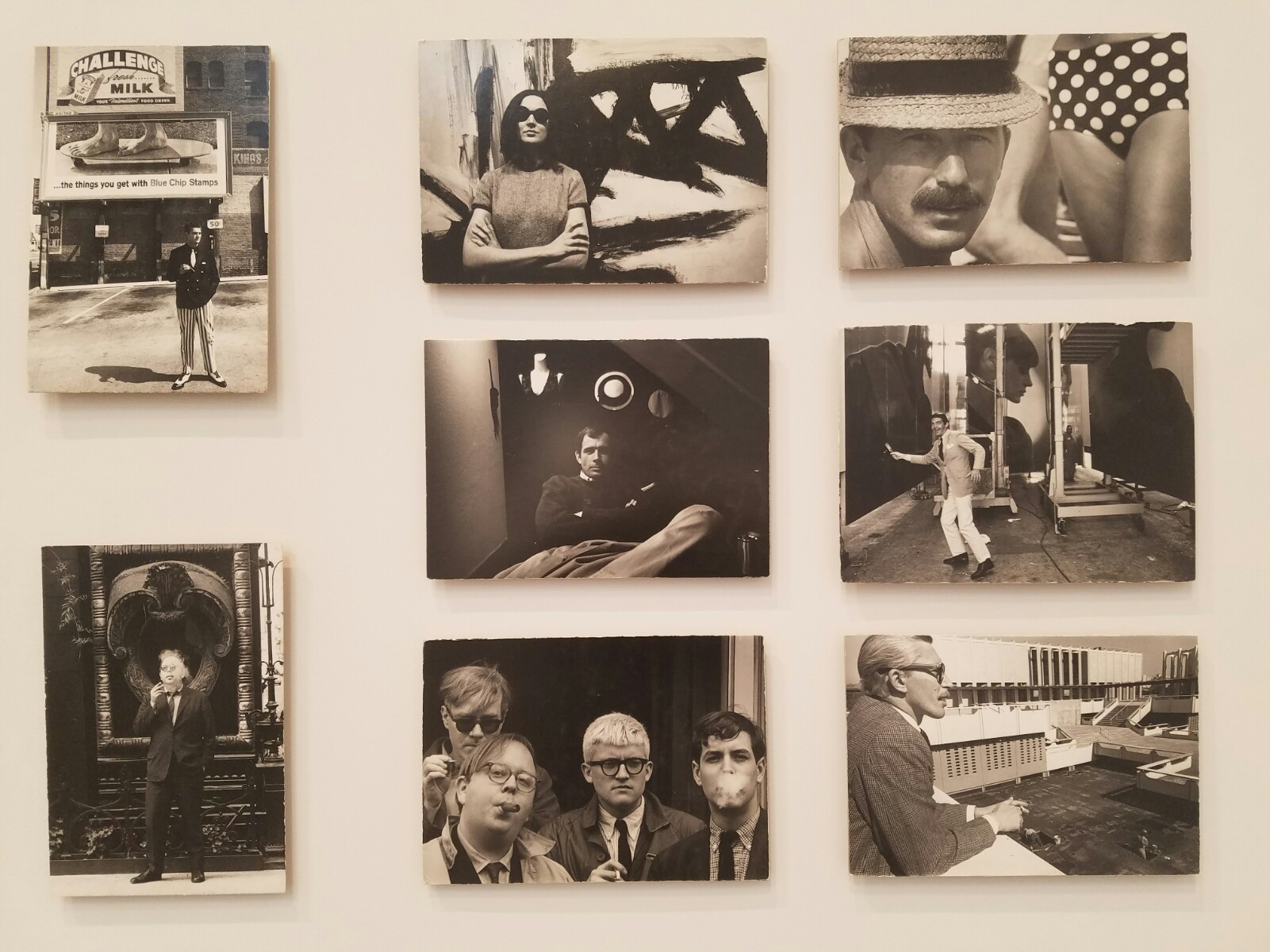 Portraits of artists, gallerists and curators were a Hopper staple, including Henry T. Hopkins (lower right), who organized a 1970 Hopper show in Texas.
