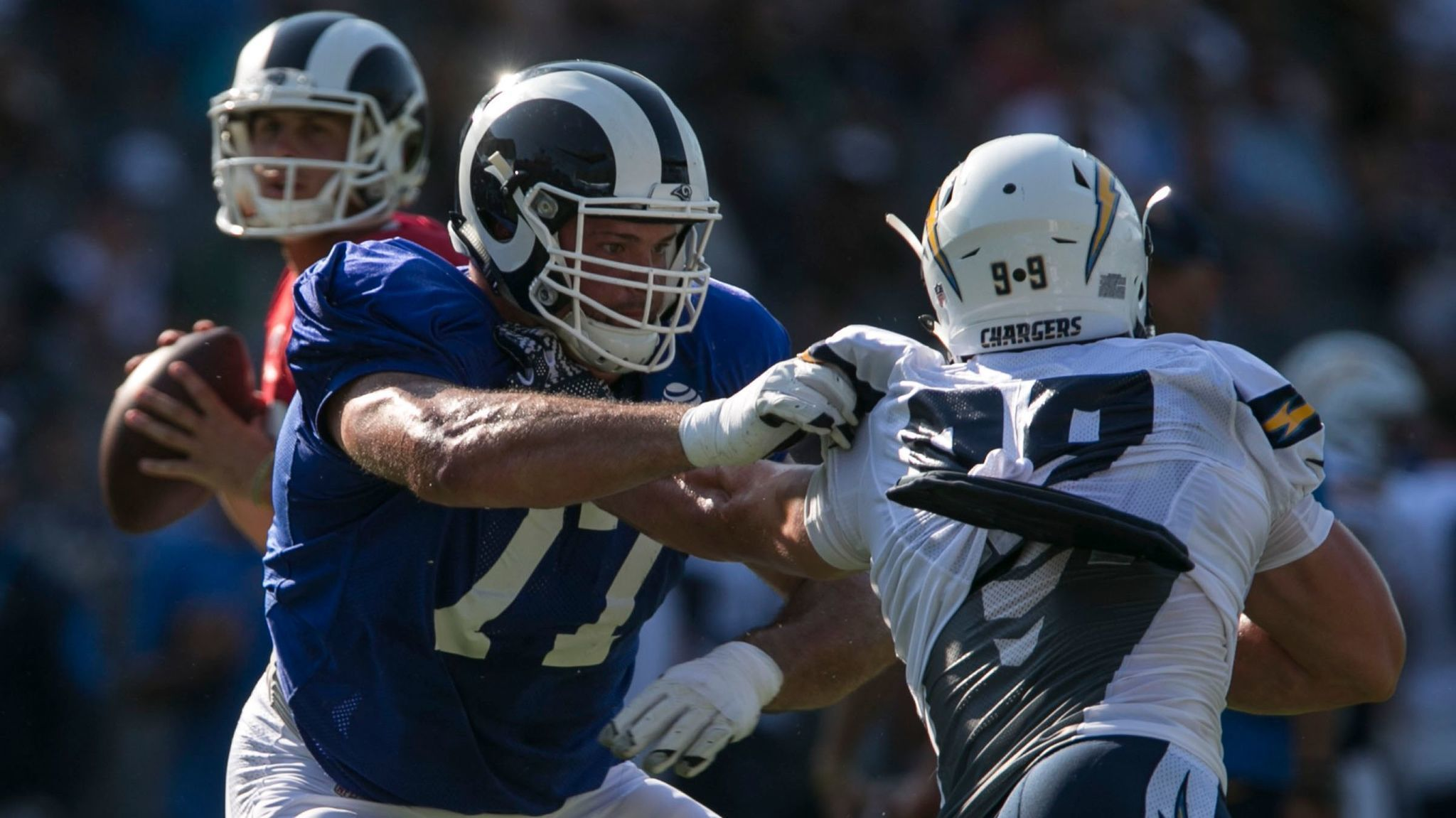 Andrew Whitworth a big big addition to Rams revamped offensive