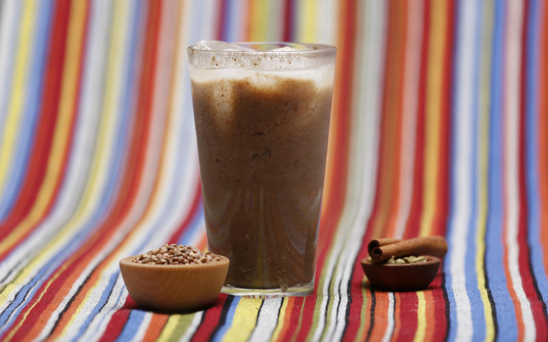 Buckwheat cardamom horchata