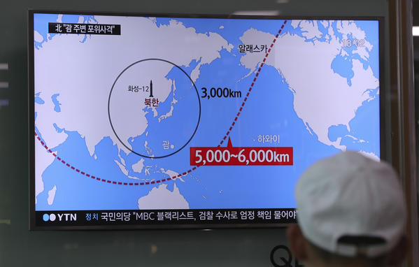 Mapped: US and Allied Missile Defenses Against North Korea