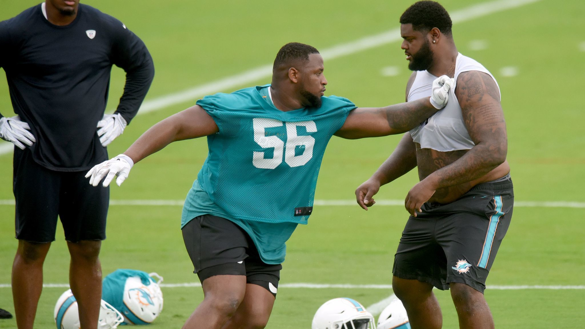 Dolphins rookie DT Davon Godchaux seemingly moving up depth chart ...