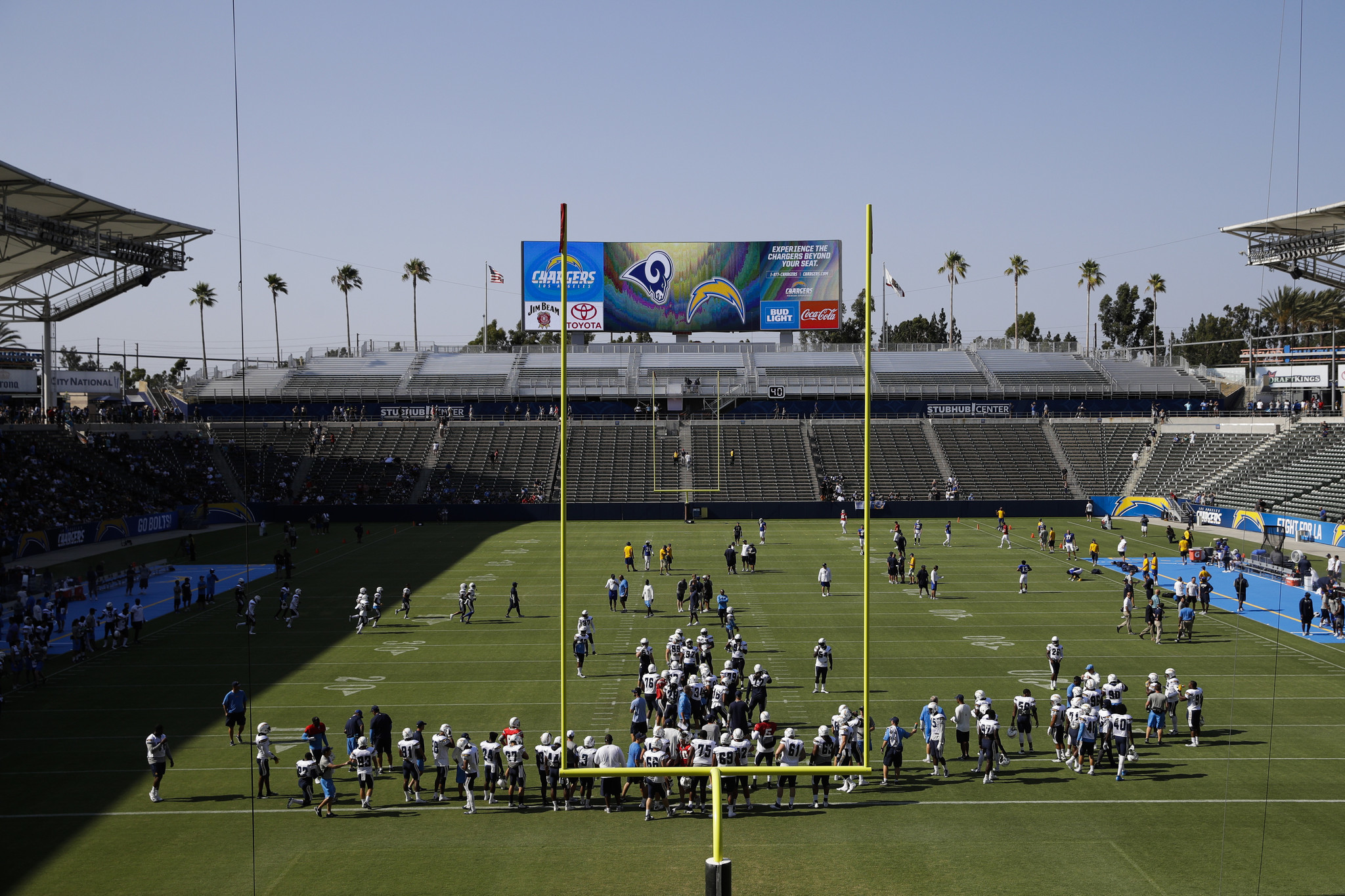 Chargers Spending Tens Of Millions To Make New Home Nfl