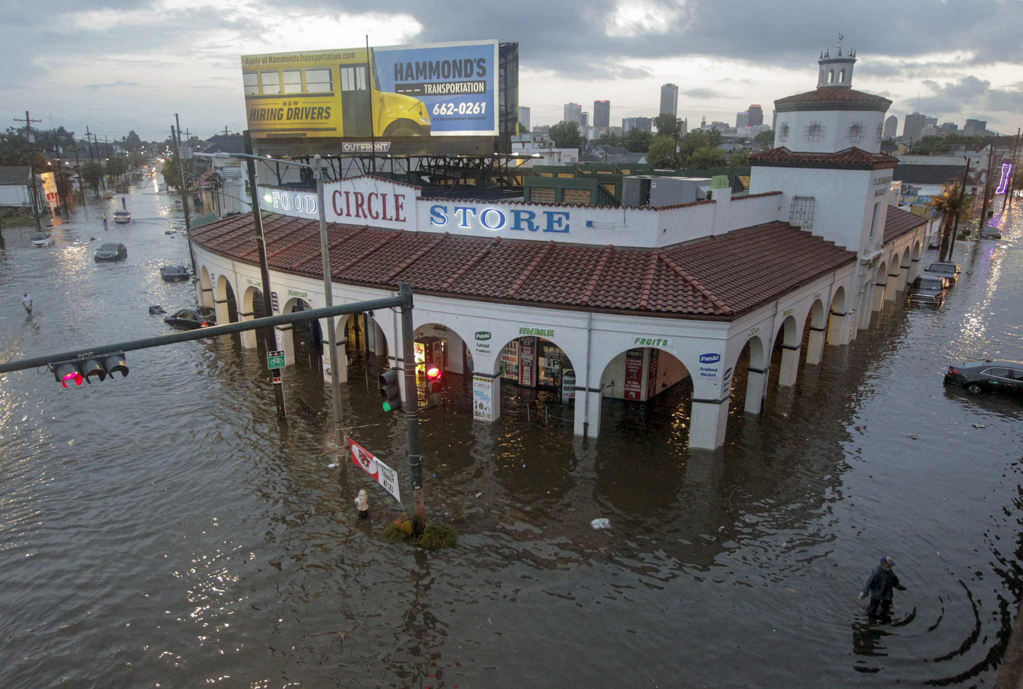 Louisiana governor declares emergency as New Orleans flood threat looms