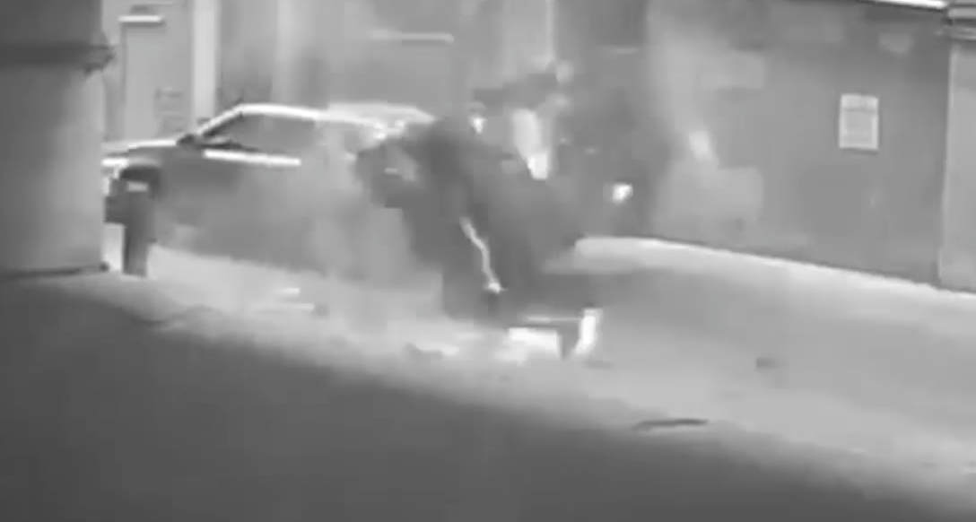 Video Shows Car S  Story Fall From Texas Parking Garage