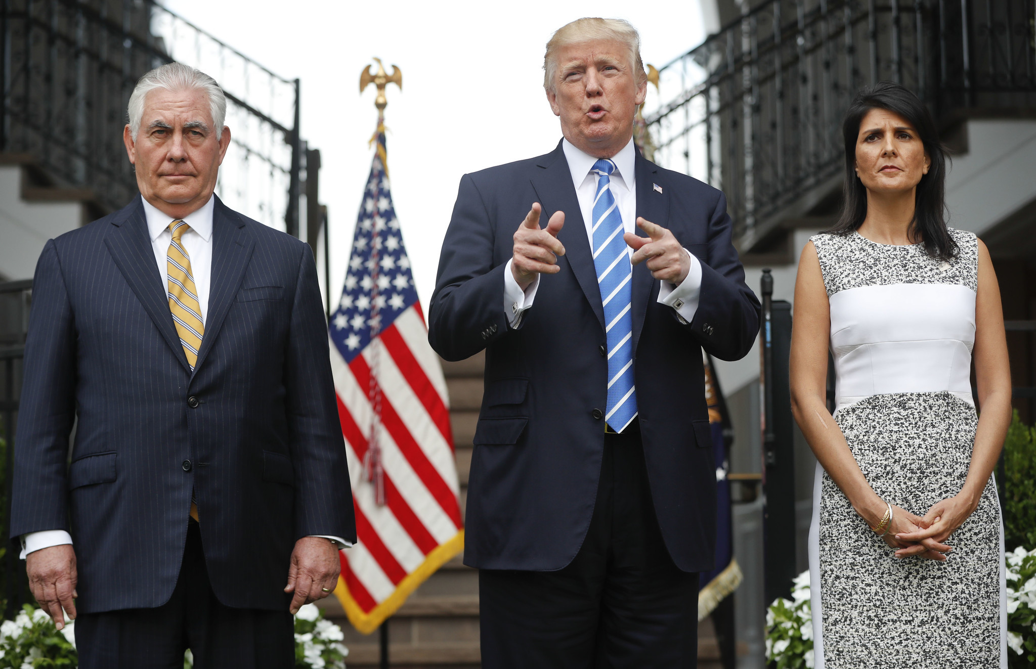 Image result for trump and nikki haley