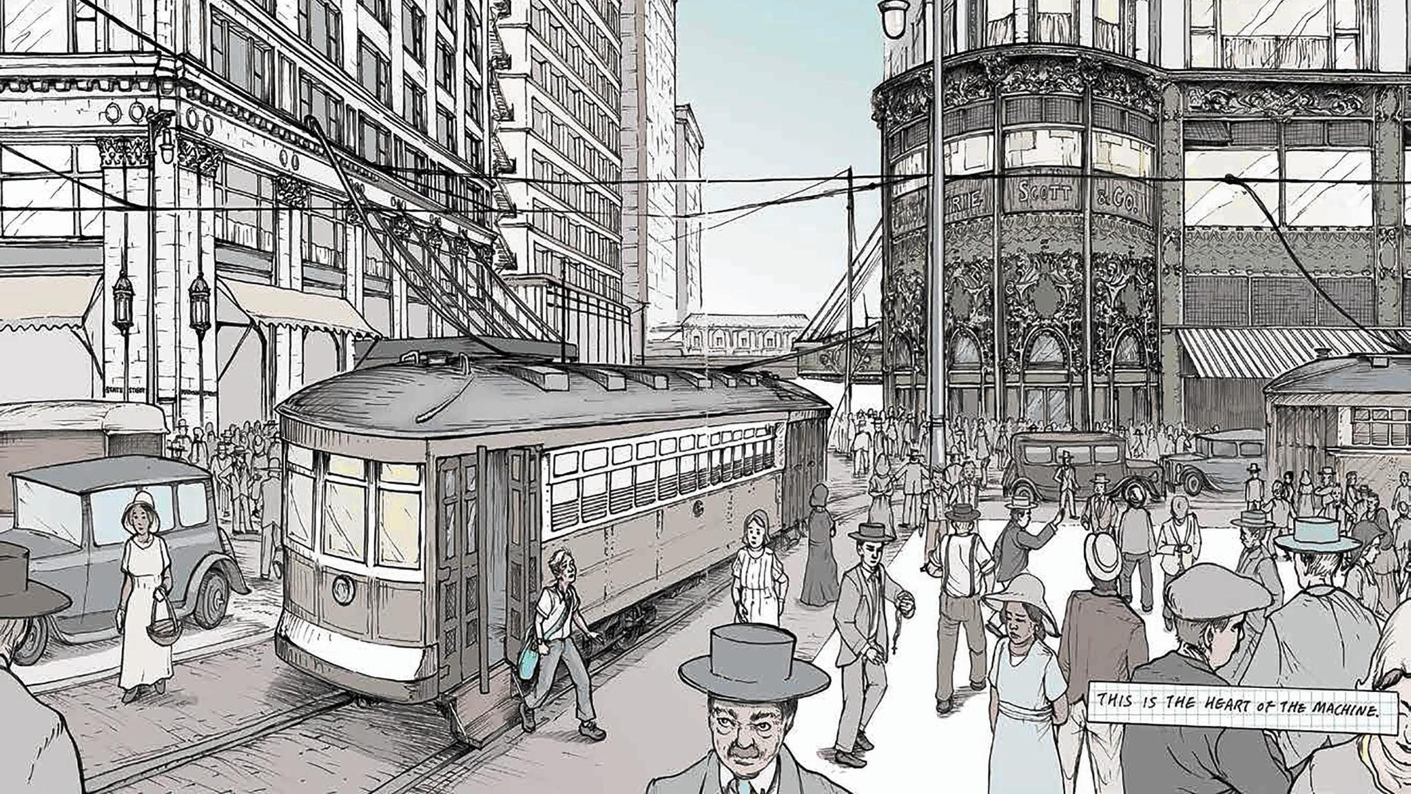 Graphic novel seeks to show cps students the importance of for Architecture graphique