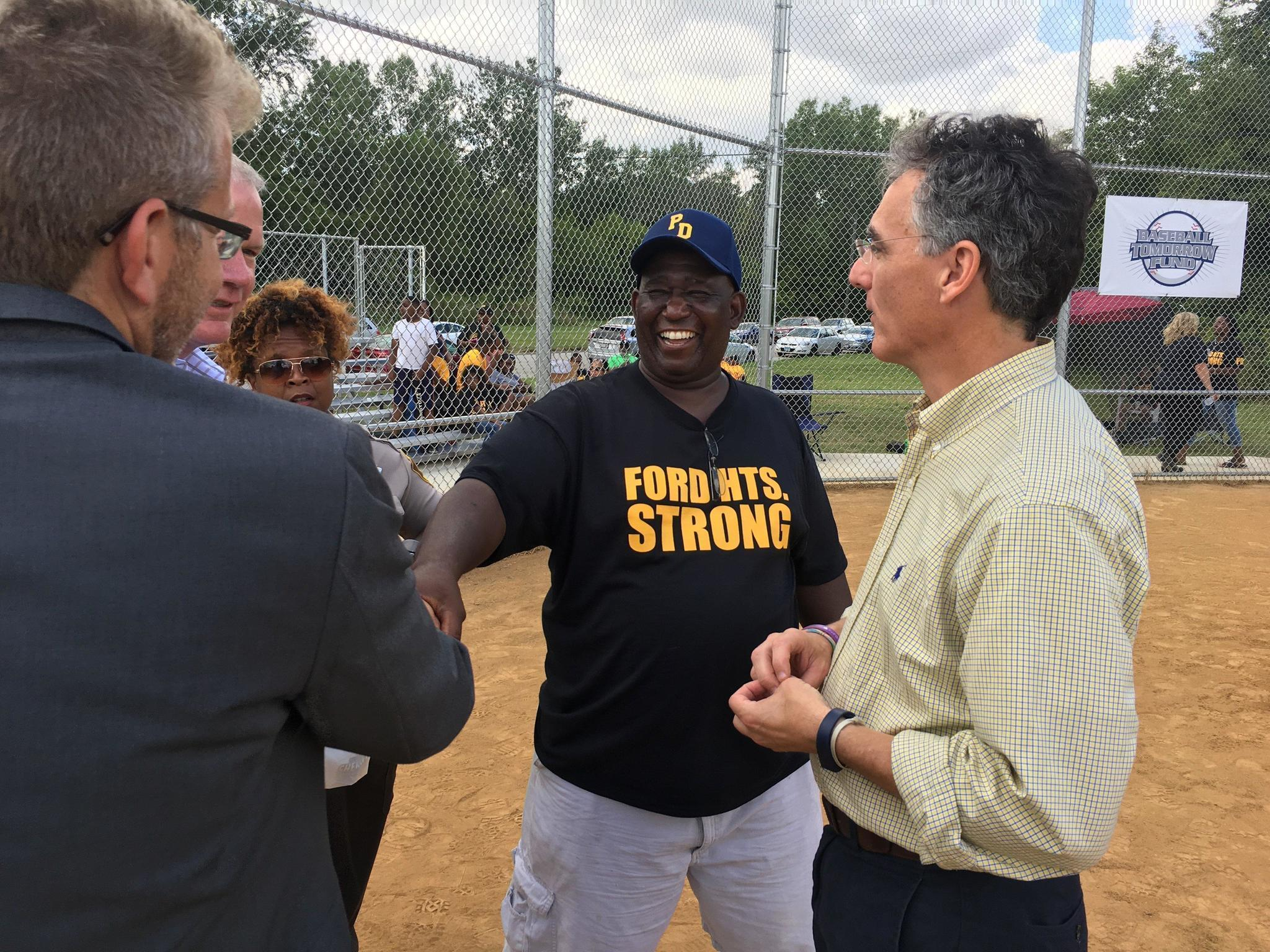 In struggling ford heights new youth baseball field offers hope daily southtown
