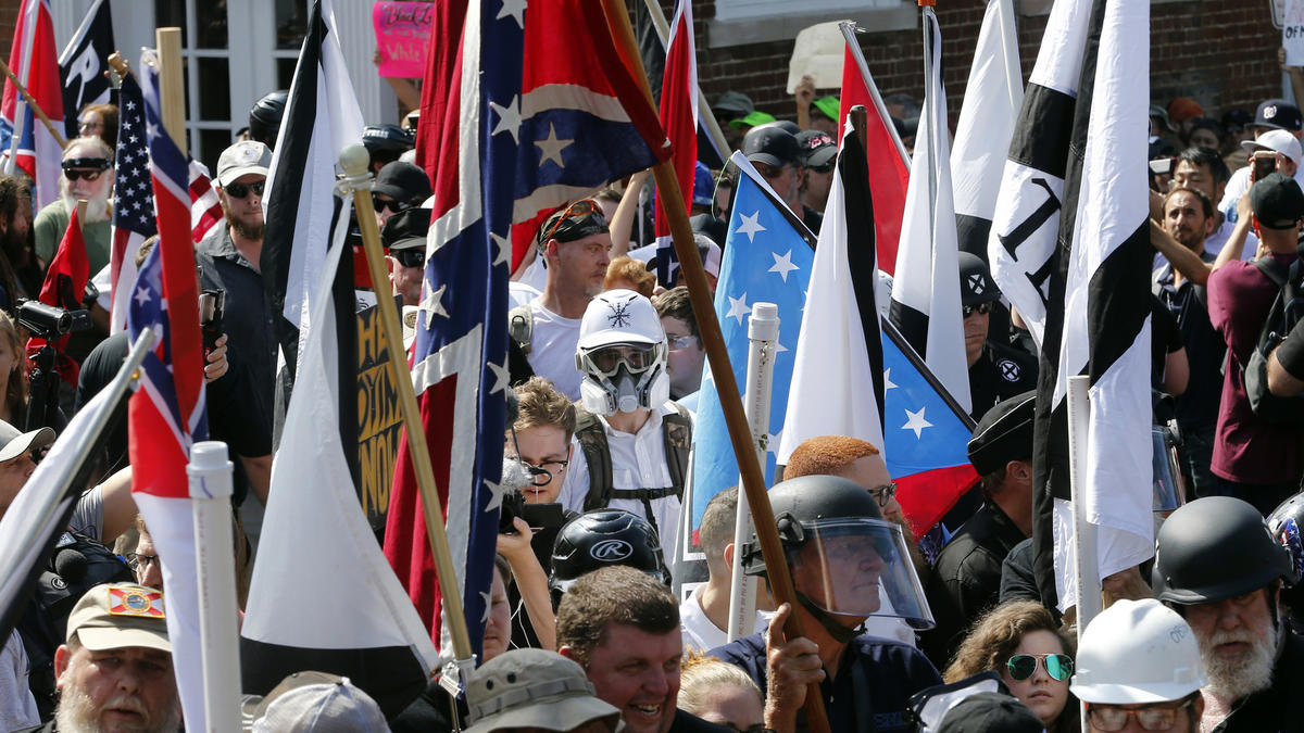 White nationalist rally in Charlottesville