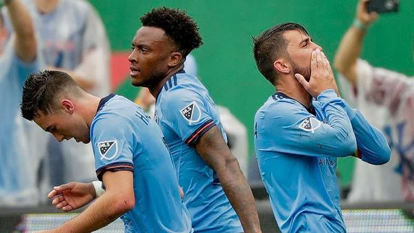 Galaxy find no solace at home in 2-0 loss to New York City