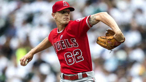 Parker Bridwell helps Angels complete sweep of Mariners for sixth consecutive win