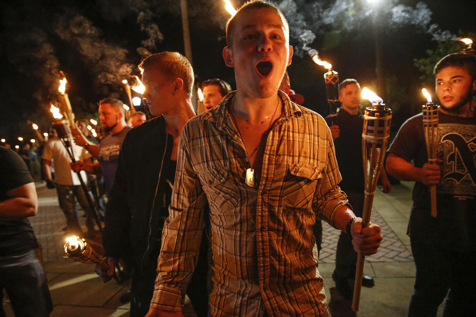 From Tiki torches to hockey, Charlottesville compels companies to denounce white supremacist patrons