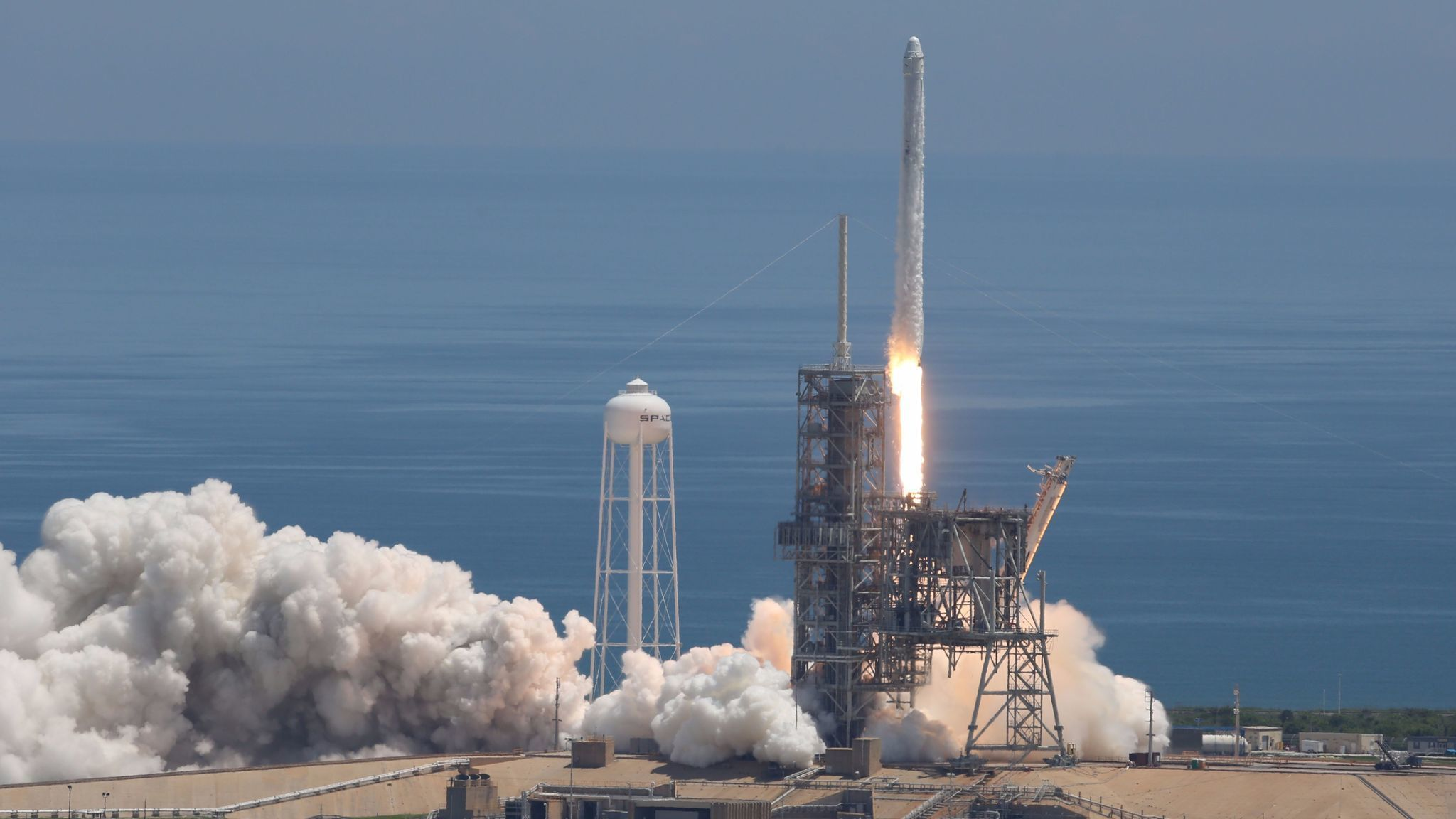 spacex launches iss resupply mission lands rocket at cape canaveral orlando sentinel