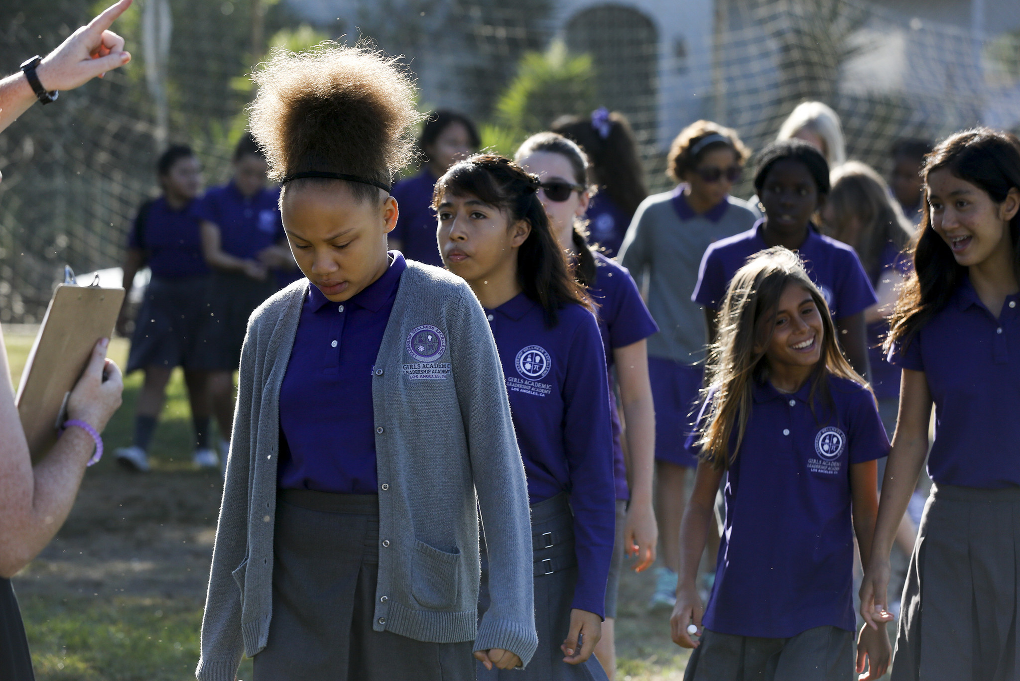 The Girls Academic Leadership Academy opened in 2016.