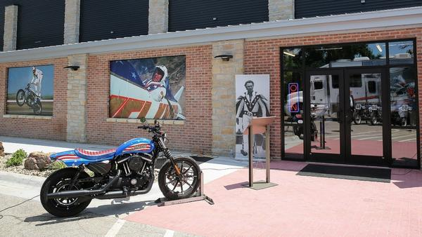 Kansas museum honors Even Knievel, the godfather of extreme sports