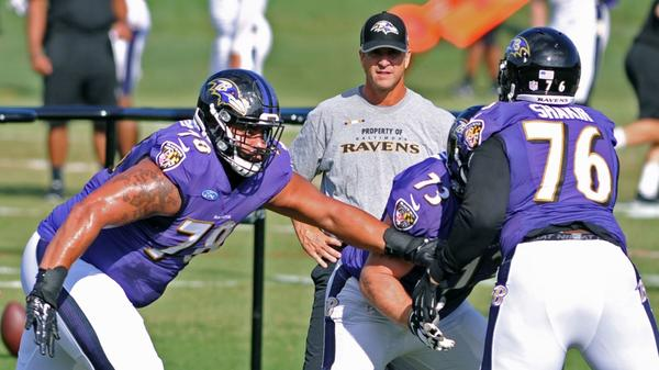 Ravens camp highlights (Aug. 15): Team braves rain, participates in uptempo walk-through