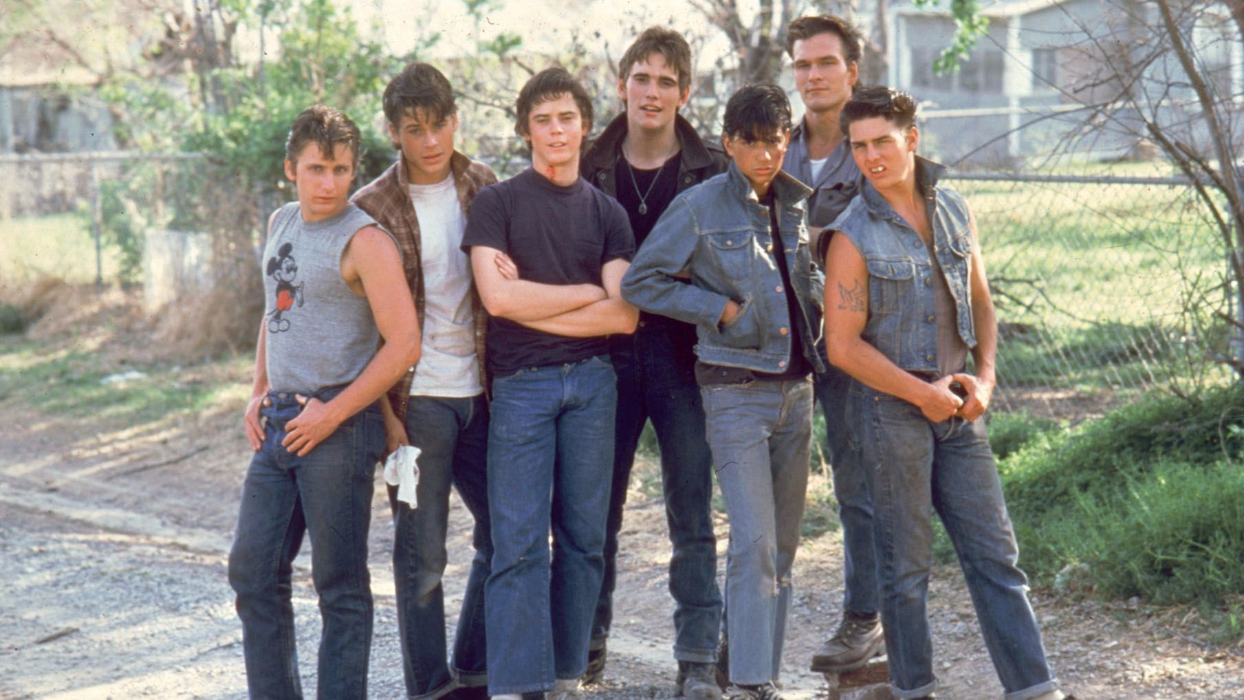 The outsiders dally pictures Go Out with a Smile - TV Tropes