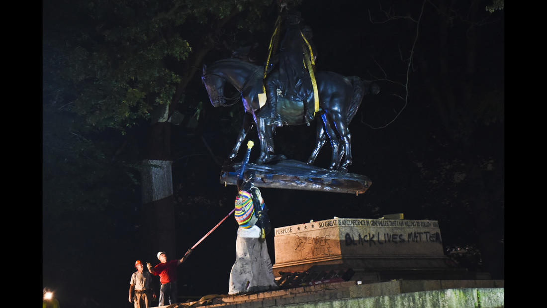 Monument removed