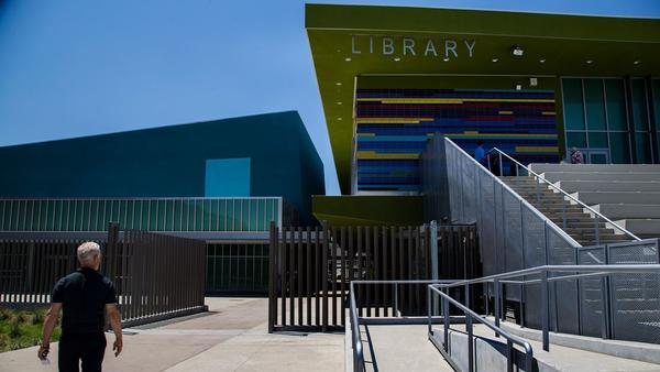 LAUSD's costly 20-year construction project ends with opening of $160-million Maywood campus