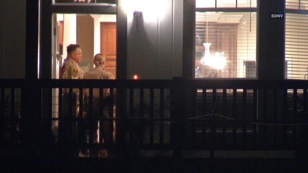 Intruder shot at San Pasqual Valley home