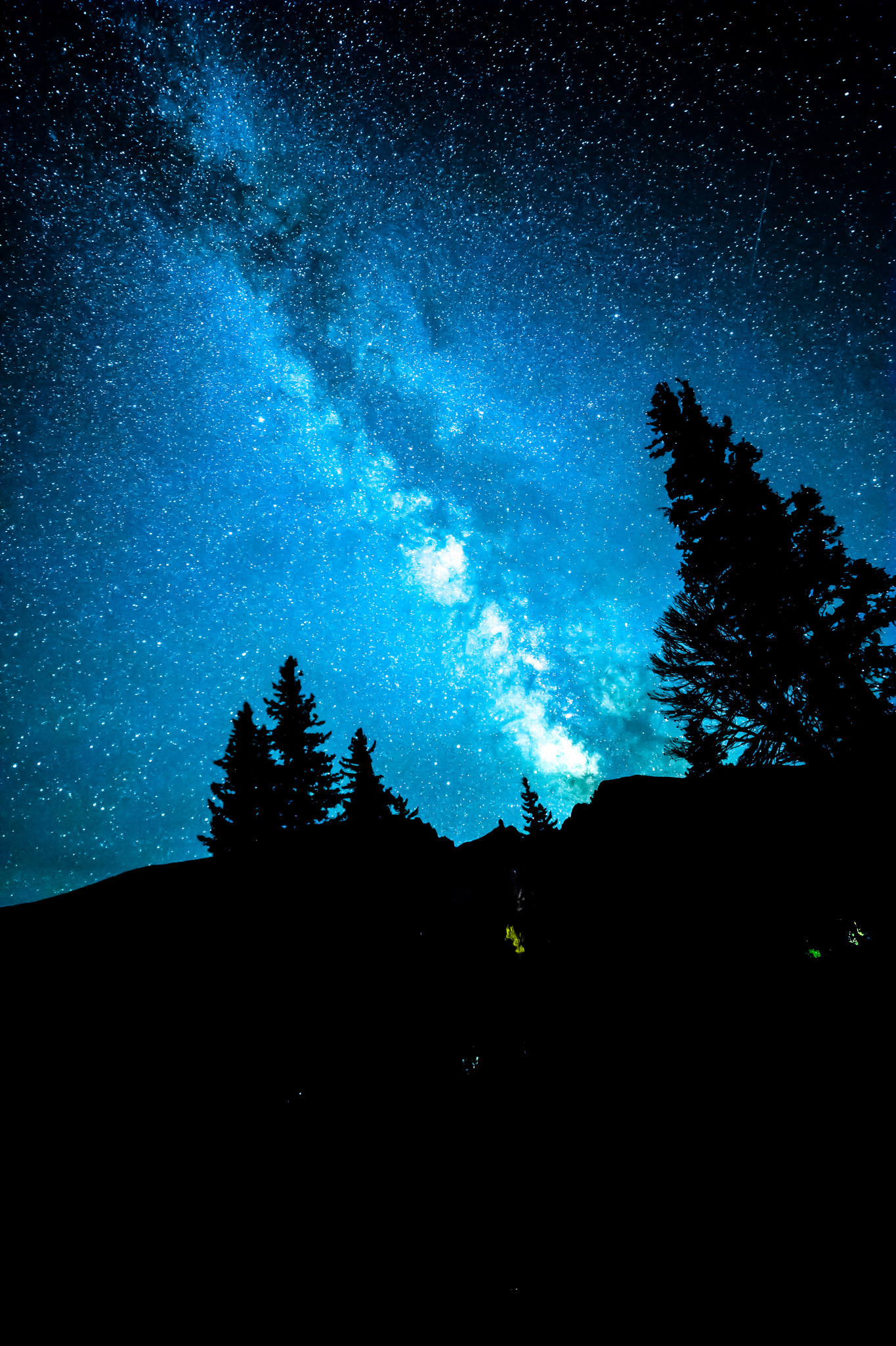The Milky Way over Great Basin National Park.