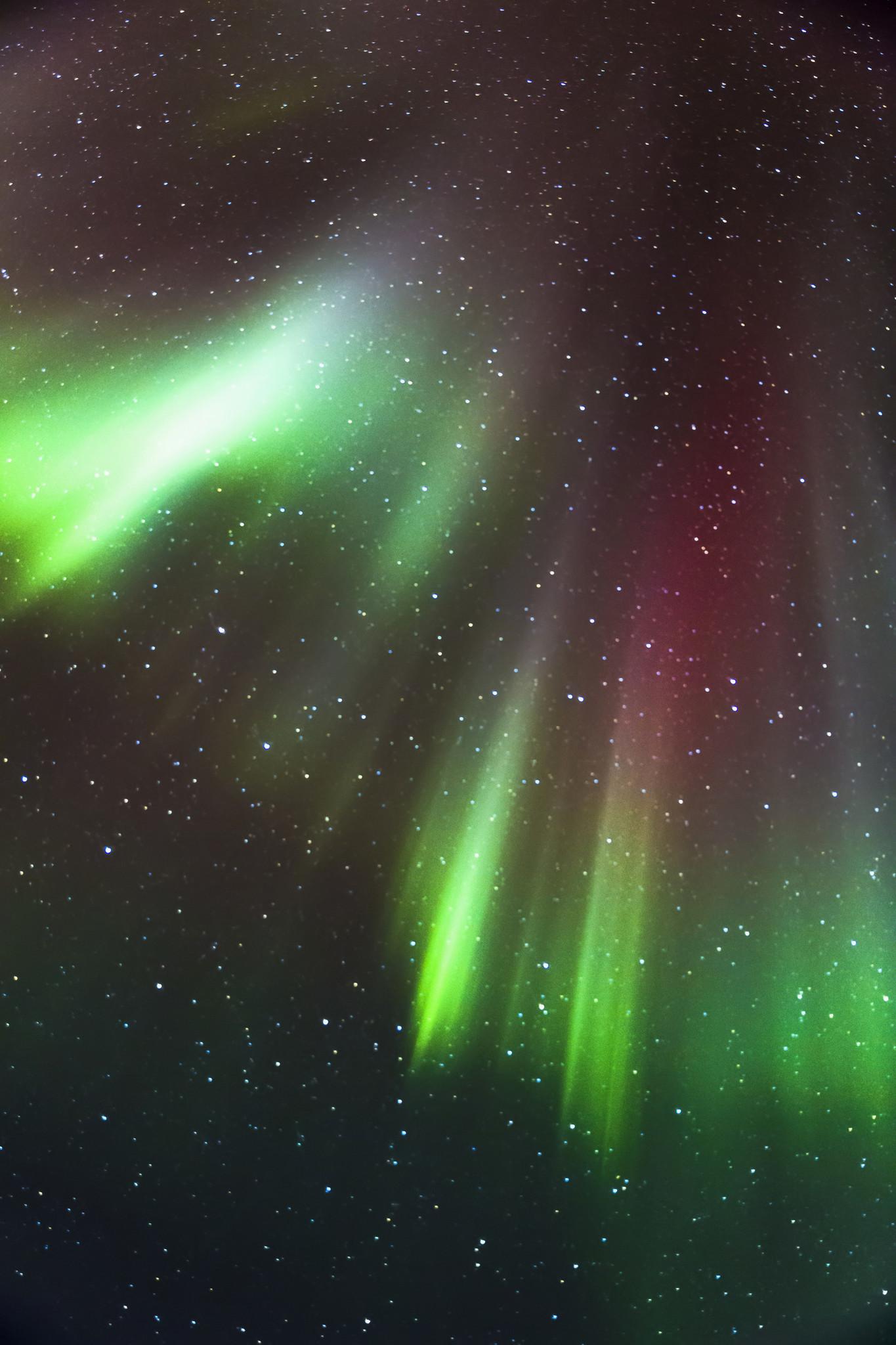 Northern lights above Barrow.