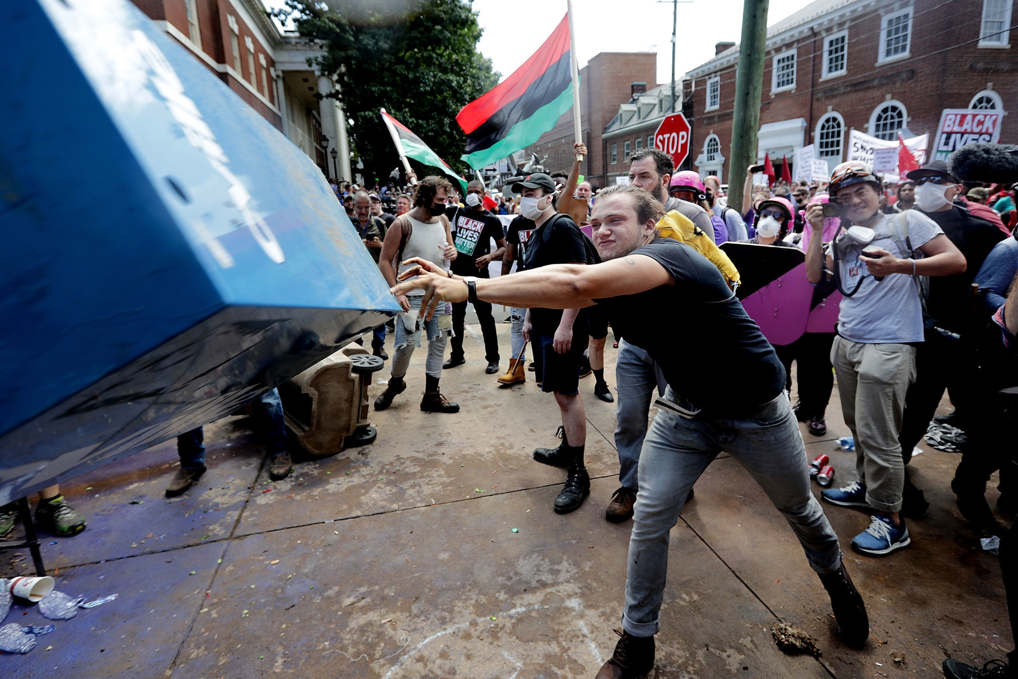 What Is Antifa Virginia Clashes Bring Attention To Anti