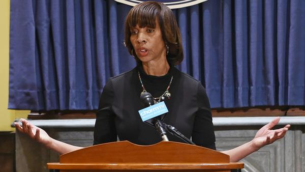 Rawlings-Blake responds to Pugh criticism over Confederate monuments