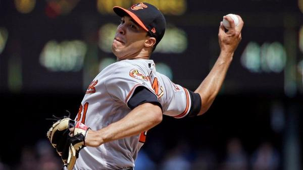 Ubaldo Jiménez struggles, Orioles leave go-ahead run on base in 7-6 loss to Mariners