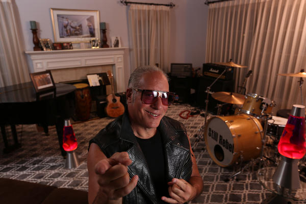 My Favorite Room: Andrew Dice Clay and his cubs nestle in their cozy den